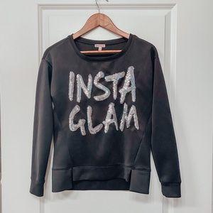 JUICY COUTURE Insta Glam Sweatshirt